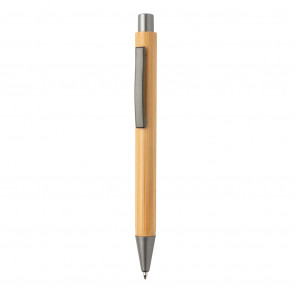 Slim design bamboo pen