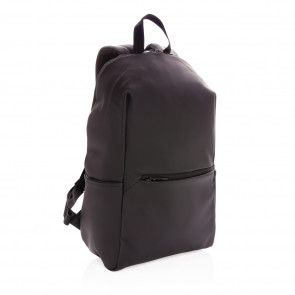 """Smooth pu 15.6""""laptop backpack"""