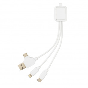 6-in-1 antimicrobial cable