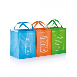 3pcs recycle waste bags