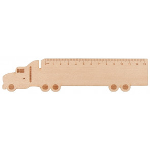 Looney Wooden Ruler