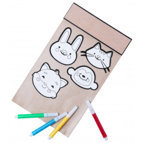 Varnils Colouring Sticker Set