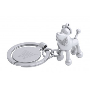 Hoinzo Trolley Coin Keyring, Dog